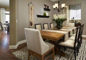 Custom Dining Room Interior Decor