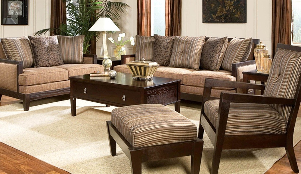 The simplest way to make any space more personal is using simple dark brown living room ideas.