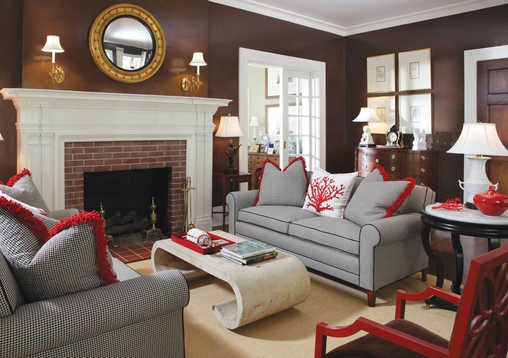 Brown Living Room Color Ideas