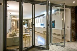 Foldable Sliding Glass Doors
