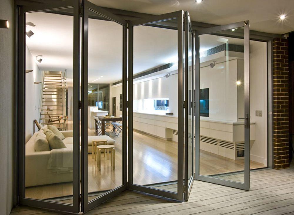 Foldable Sliding Glass Doors
