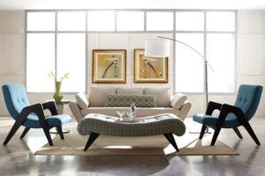 Lovable Midcentury Style Living Room Furniture