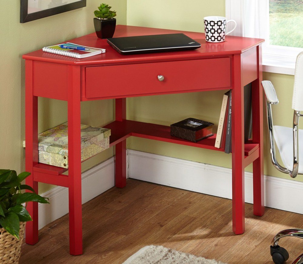 Red Wood Desk