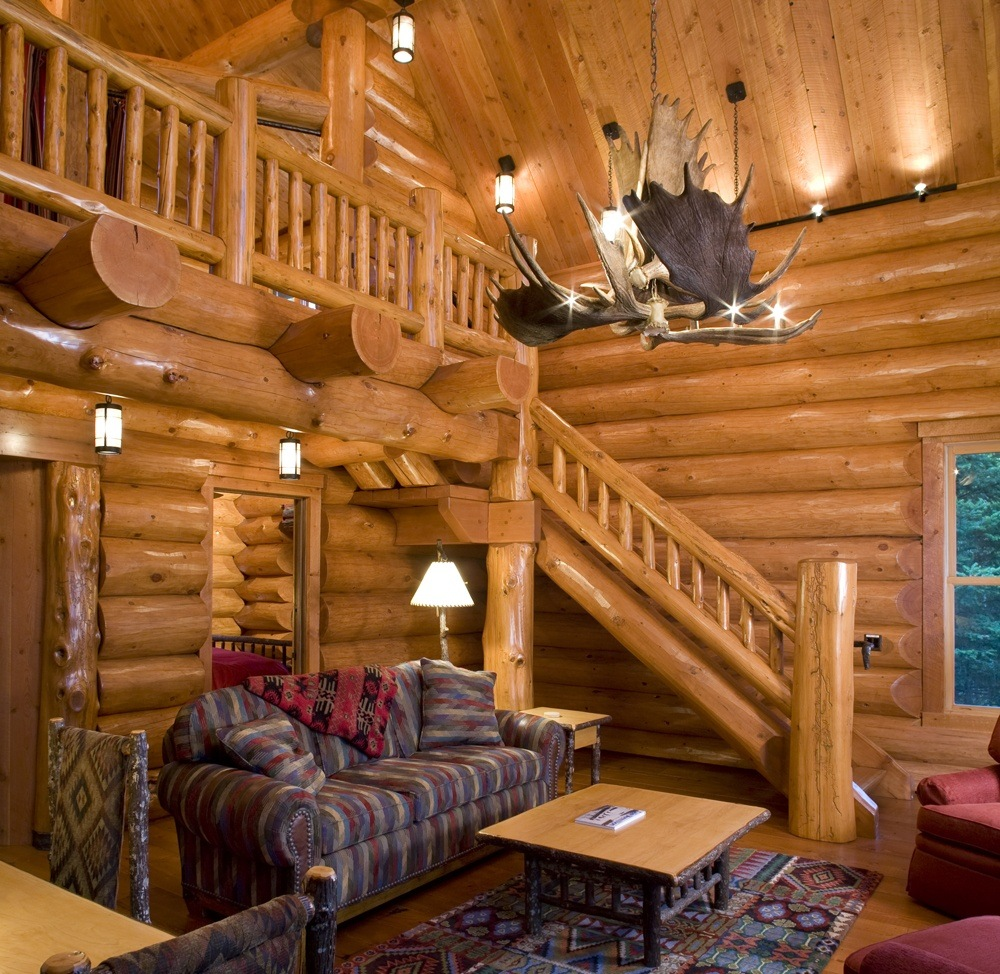 Log Home Living Room Furniture