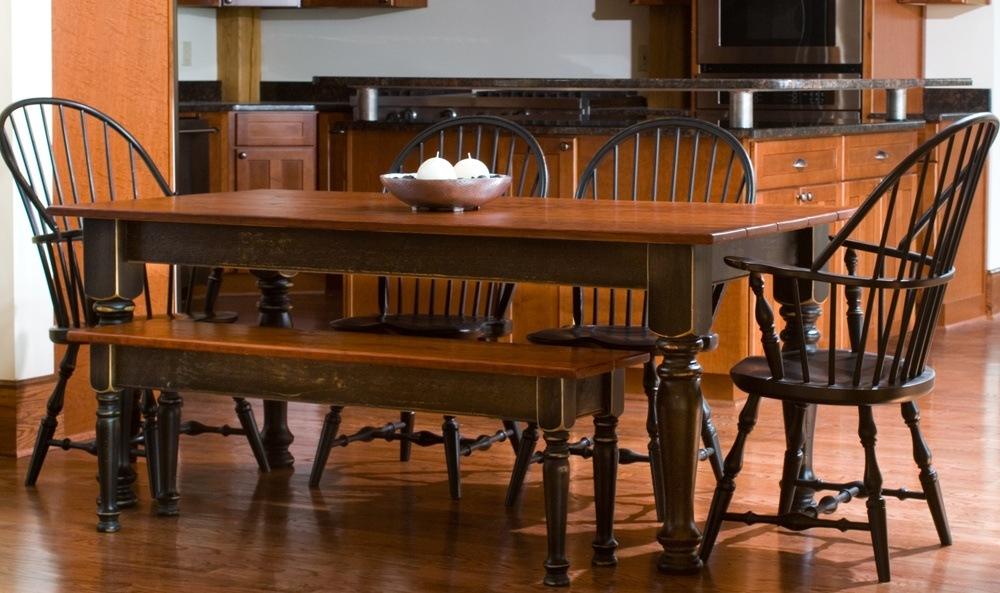 Rustic Farmhouse Table Set