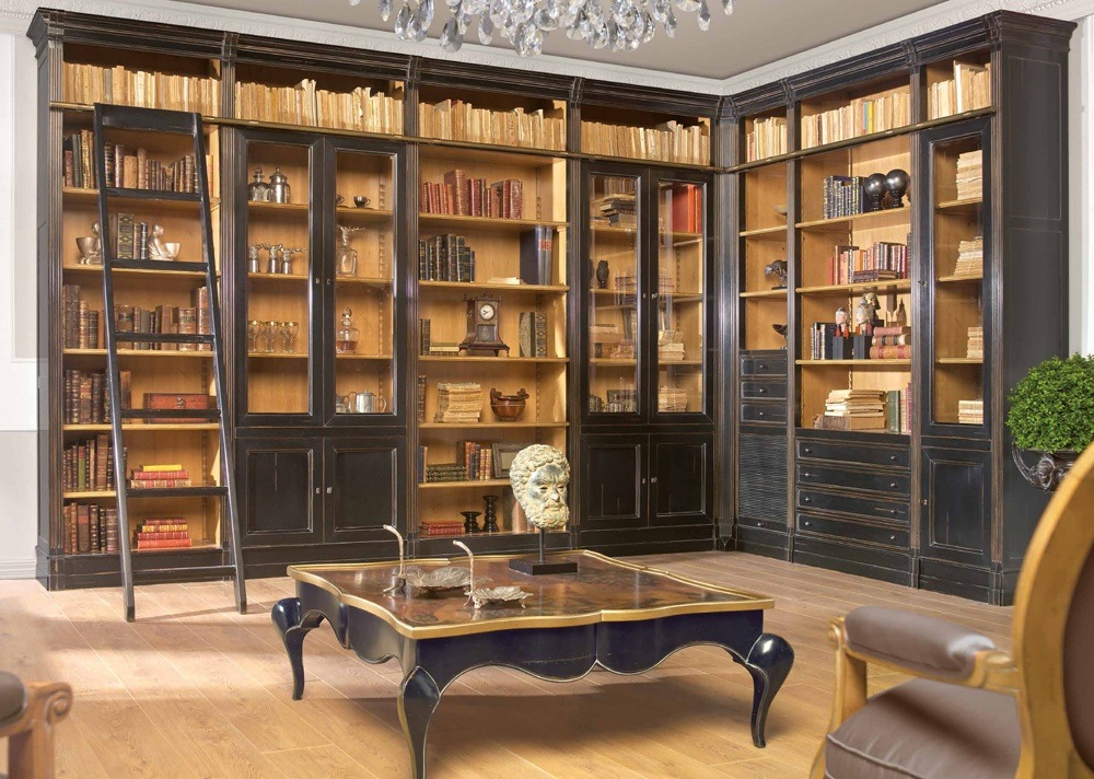Classic Library Furniture Design Thebestwoodfurniture Com