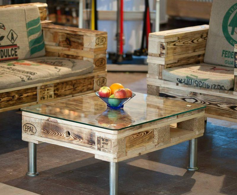 Ideas For Pallet Furniture