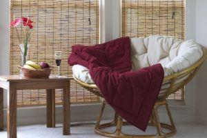 Indoor Papasan Wooden Chair