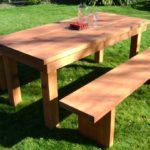 Modern Exteriors And Interiors on Your Dining Room: Rustic Teak Dining Table
