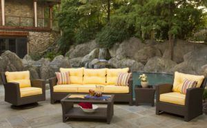 Outdoor Seagrass Furniture Set