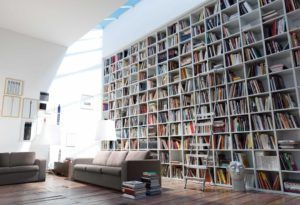 Room Home Library Design