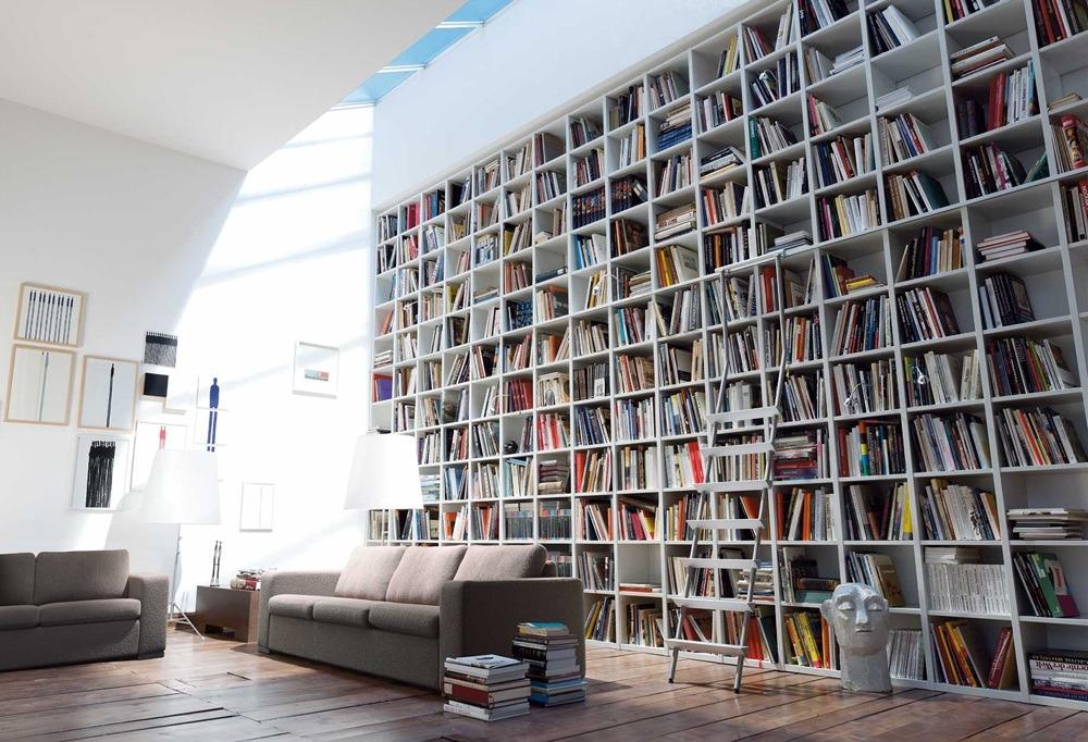 Modern Home Library Interior Design