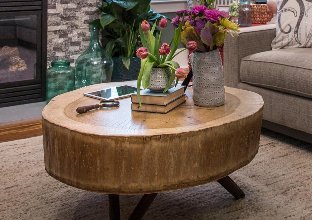 Round Coffee Table Design