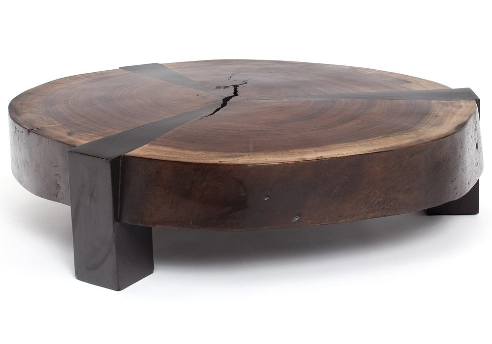 Round Wooden Coffee Tables