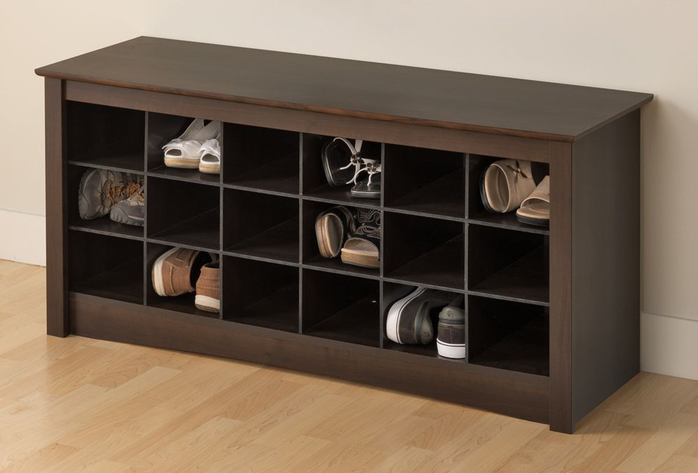 Small Shoe Rack With Bench