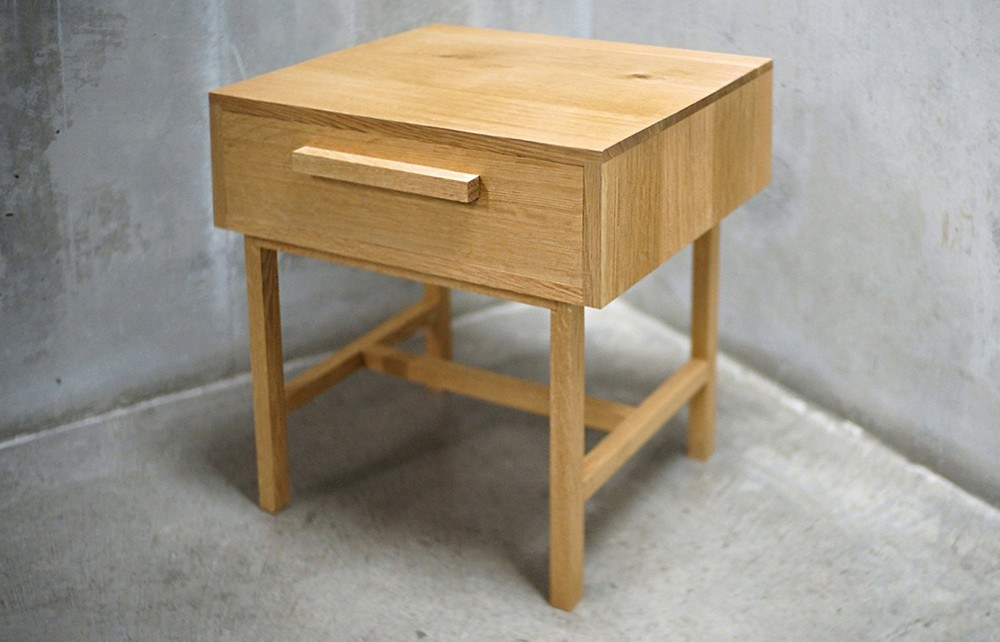 Medium Oak Nightstand