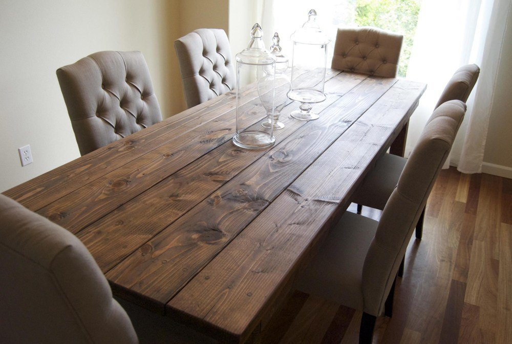 Solid Wood Farm Dining Table