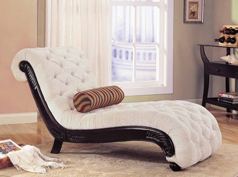 Upholstered Chaise Lounge Chair Thebestwoodfurniture Com