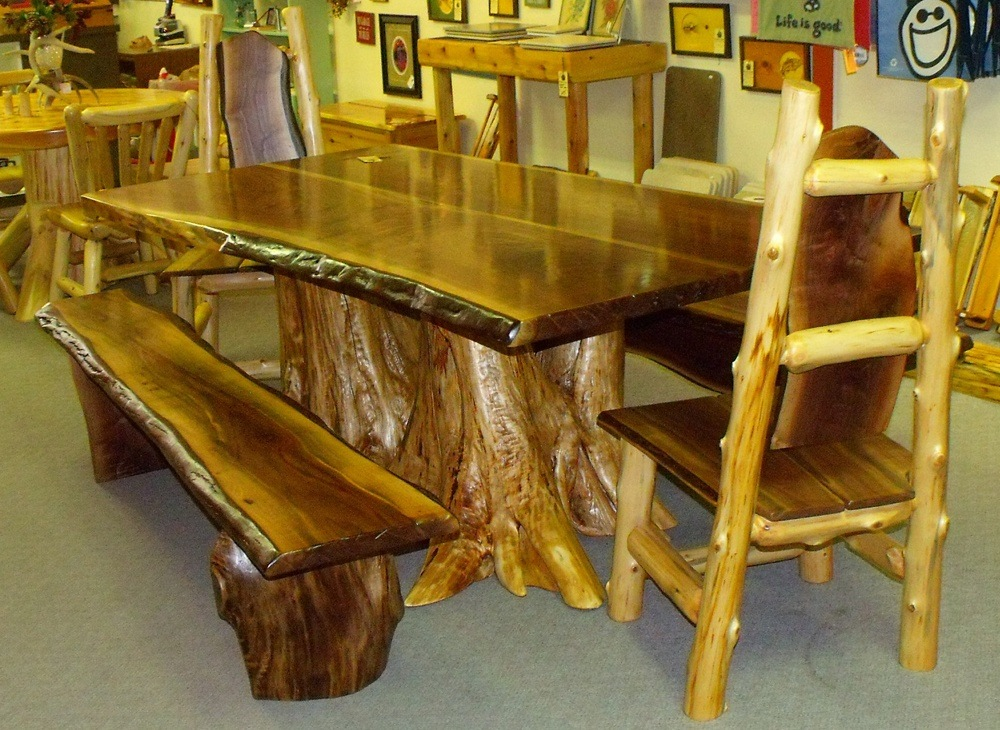 Amish Walnut Dining Table