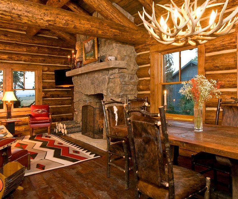 Log Cabin Living Room Furniture