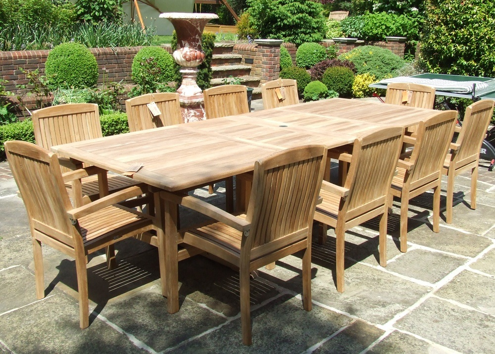 Wood Patio Table Ideas