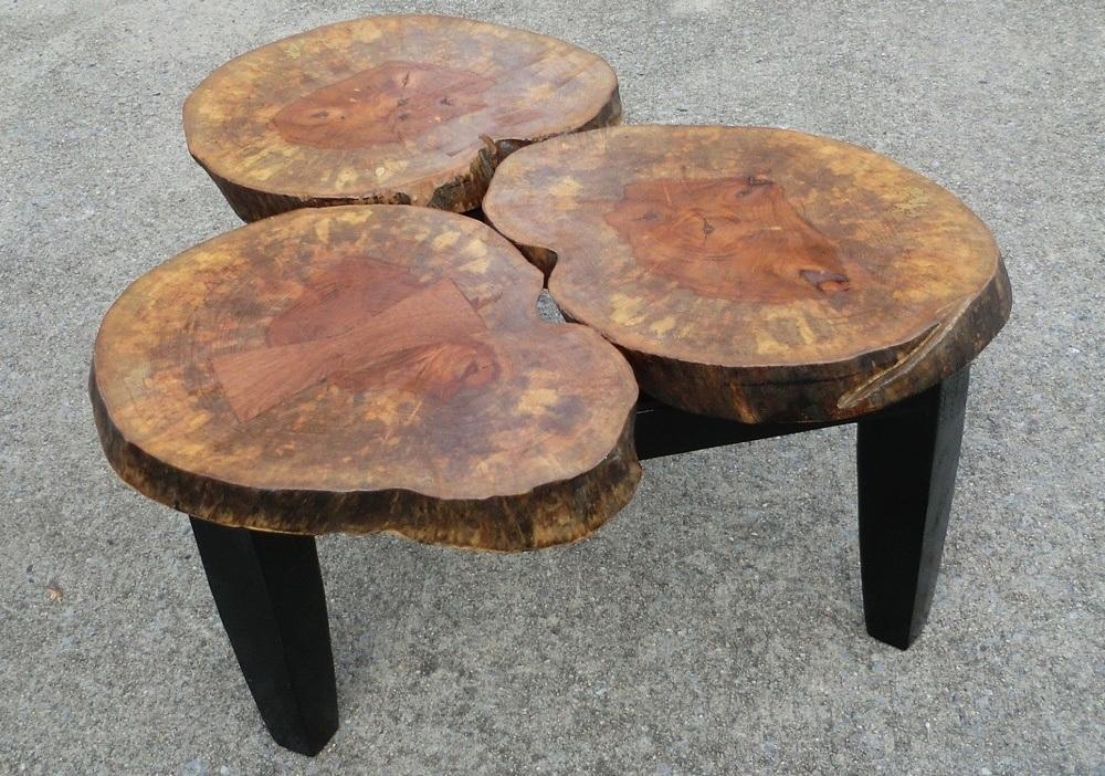Wood Storage Trunk Coffee Table