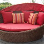 11 Awesome Wood Outdoor Daybed Ideas for Summer Garden Space Design