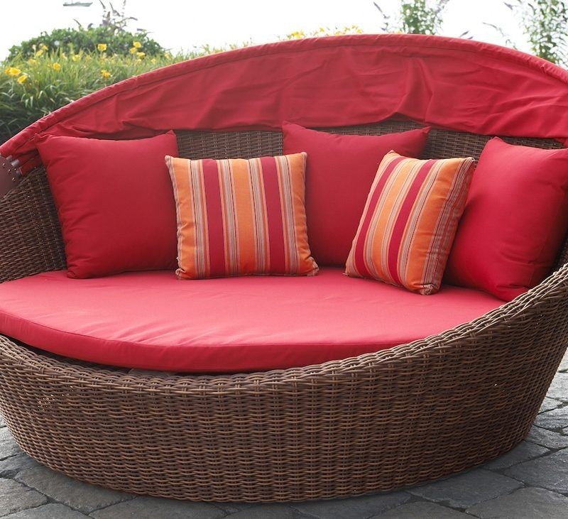 Cane Rattan Daybed
