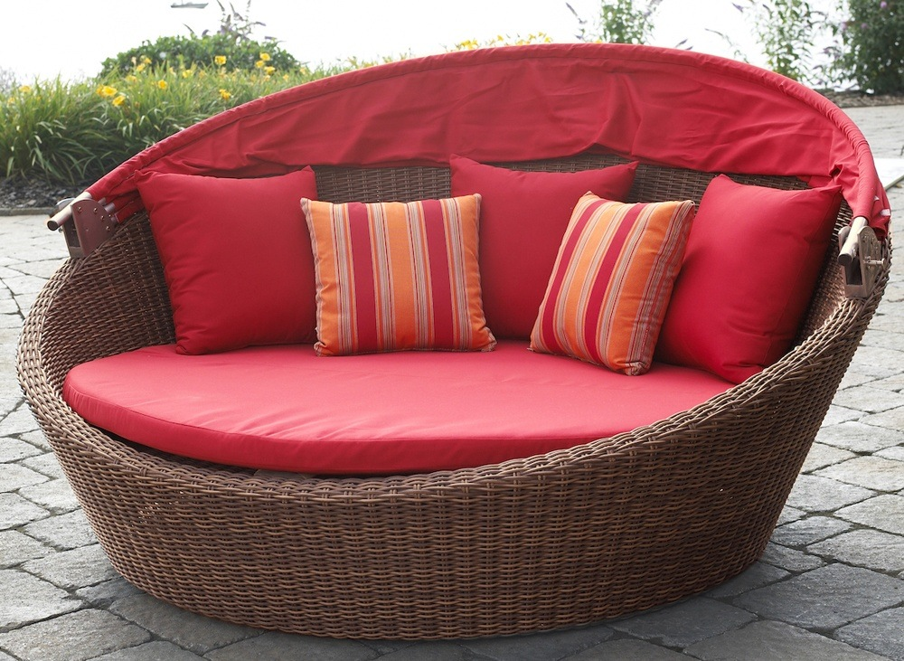 Rattan Cane Daybed