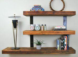 Creative Simple Floating Shelves