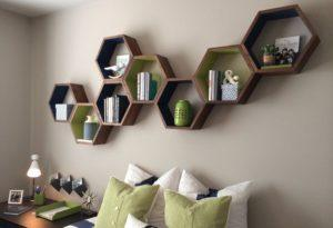 Creative Wood Floating Shelves