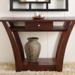 11 Popular Natural Wood Sofa Table Ideas for Living Room Design