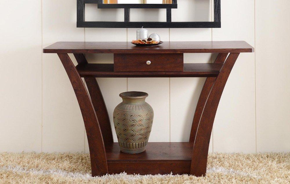Dark Walnut Sofa Table