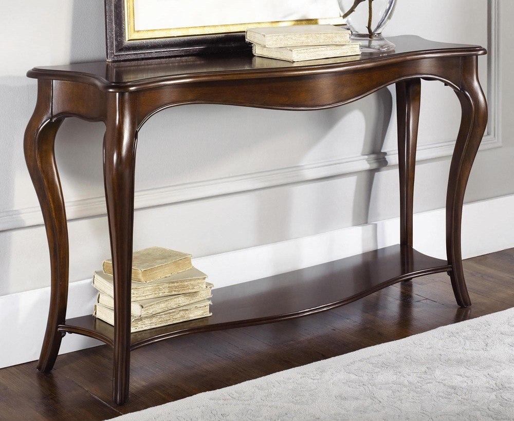 Natural Wood Sofa Table