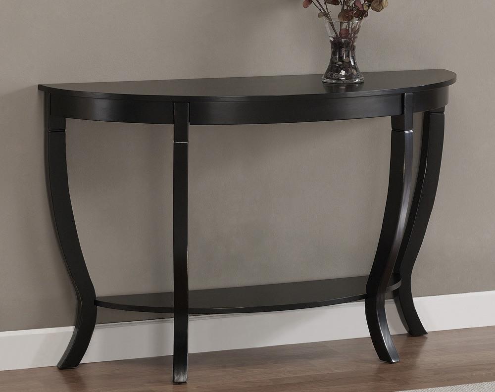Black Wood Sofa Table