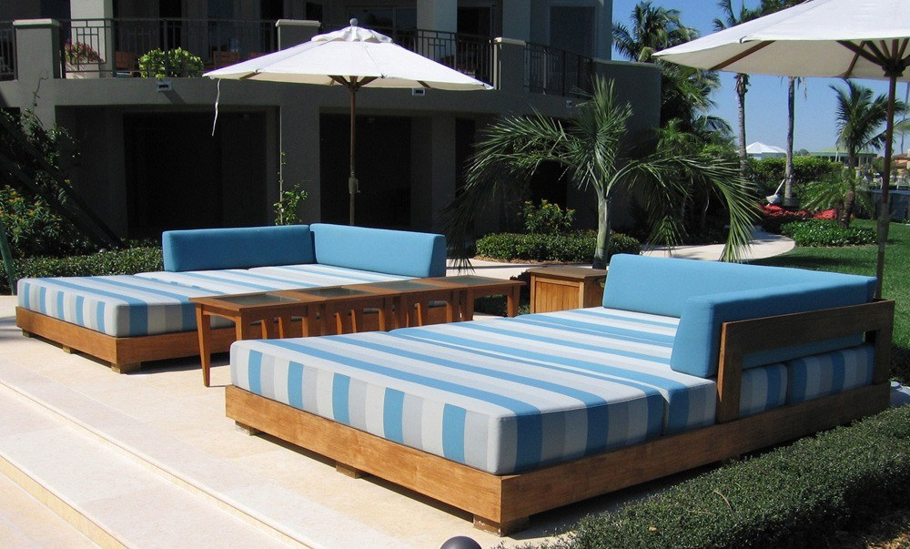 Teak outdoor bed ideas are definitely what you need.