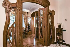 Antique Pine Doors Interior