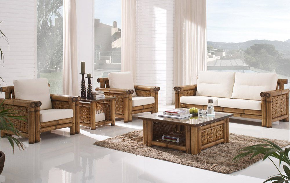 Bamboo Sunroom Furniture