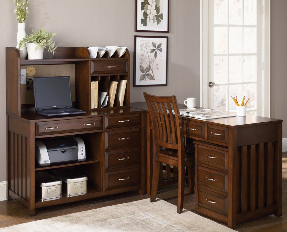Cherry Office Credenza