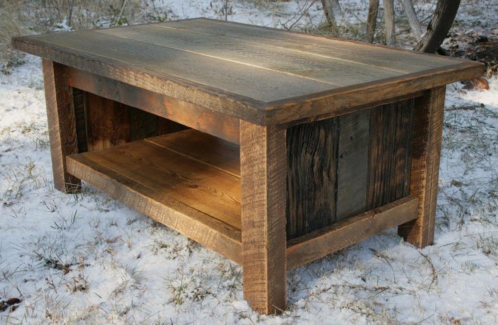 Custom Barn Wood Table