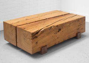 Custom Reclaimed Barn Oak Coffee Table