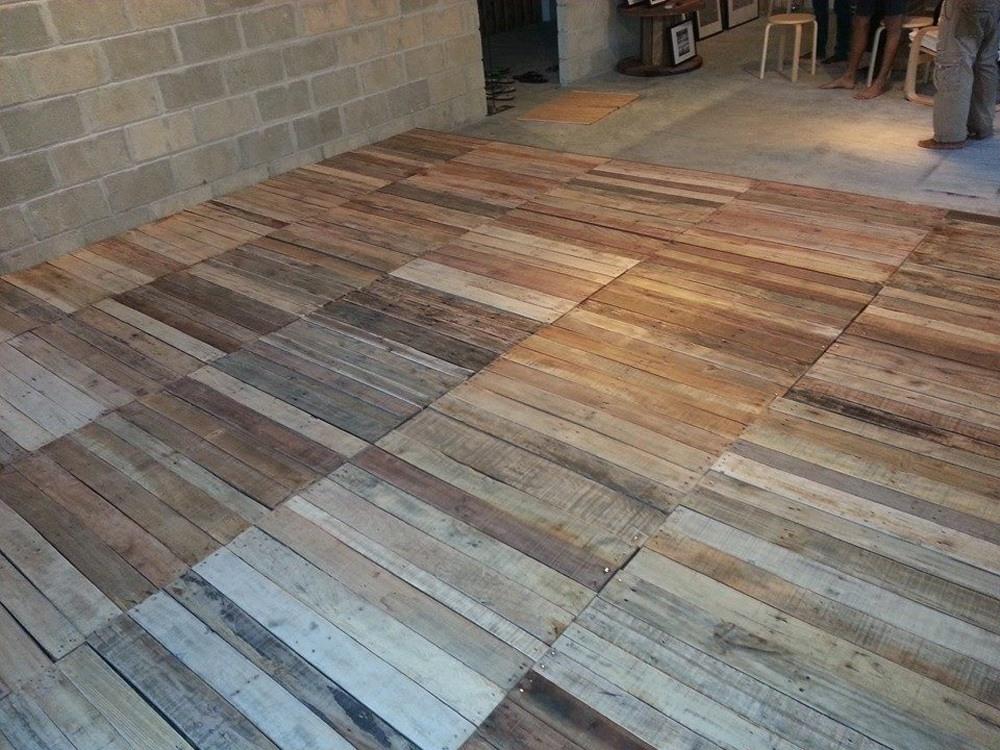 Pallet Flooring DIY