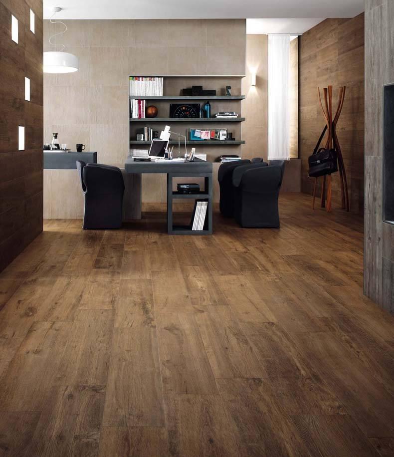 Office Chair on Vinyl Plank Flooring
