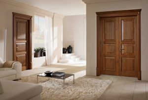 Knotty Pine Doors Interior