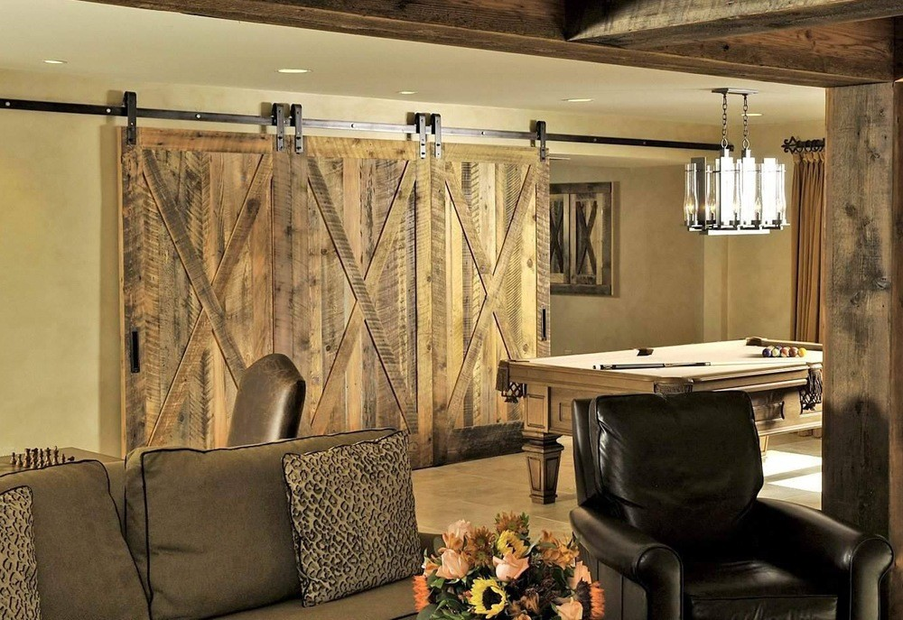 Solid knotty pine doors are an integral part of any interior.