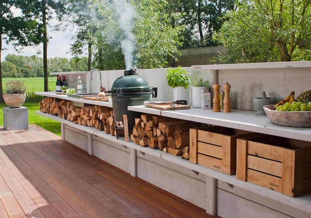 Outdoor Summer Kitchen Cabinets