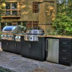 Outdoor Kitchen Storage Cabinets On Your Garden