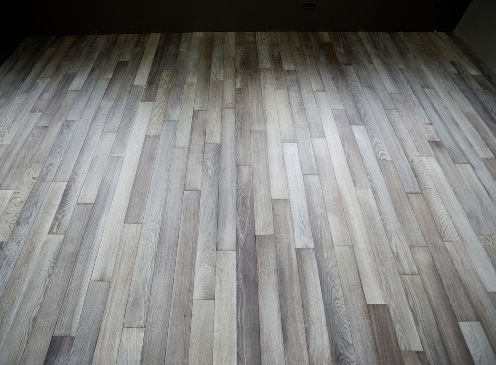 Solid Oak Parquet Flooring