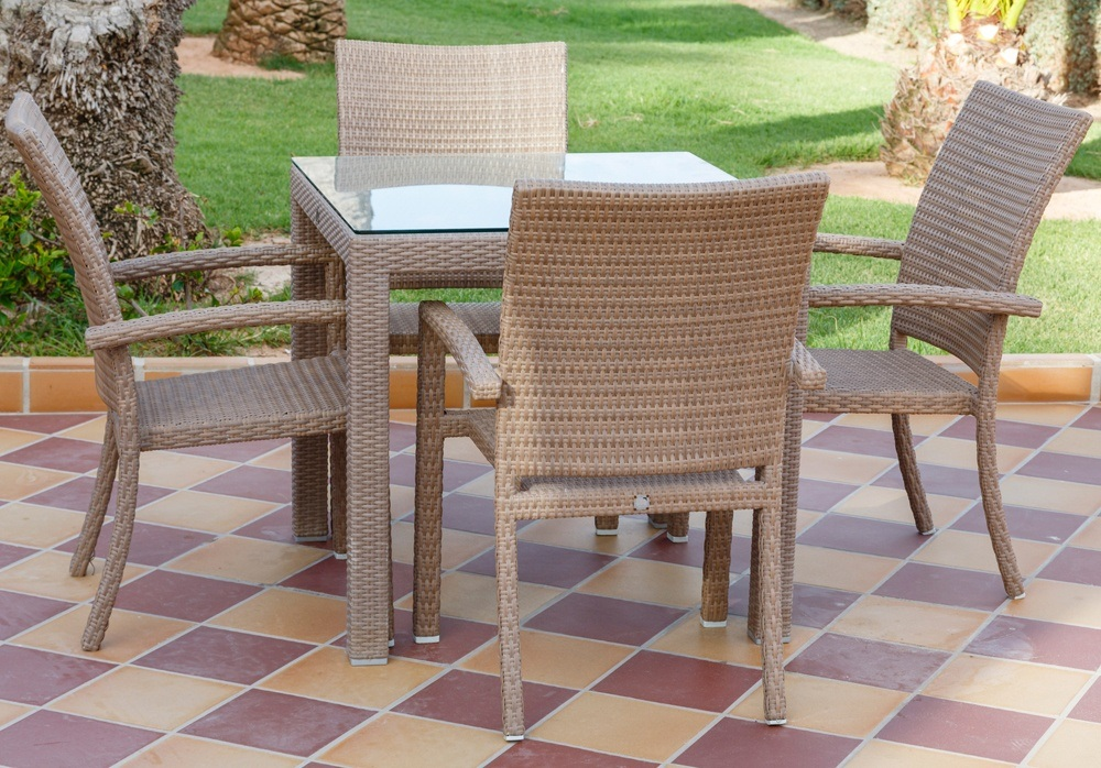 Sunroom Patio Dining Furniture Set