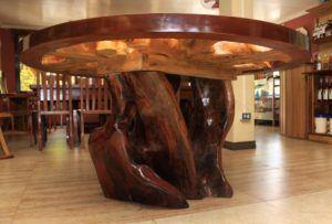 Unique Reclaimed Wood Kitchen Table